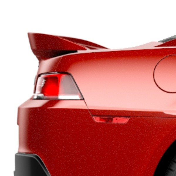 2014 Camaro Spoiler Kit, High Wing, Rear Spoiler, Z28 Style, Red Rock