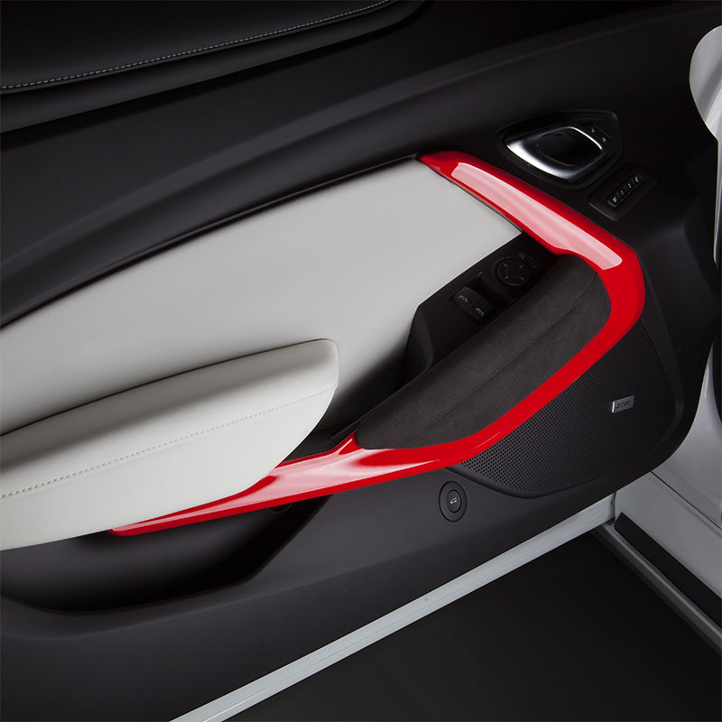 2016 Camaro Interior Door Trim Kit, Red