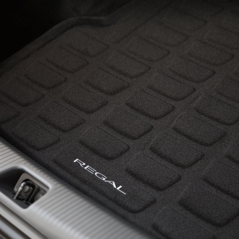 2018 Regal TourX Cargo Liner, Ebony, Regal Logo