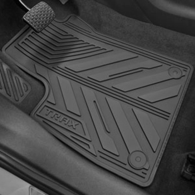 2016 Trax Premium All Weather Floor Mats Front Amp Rear
