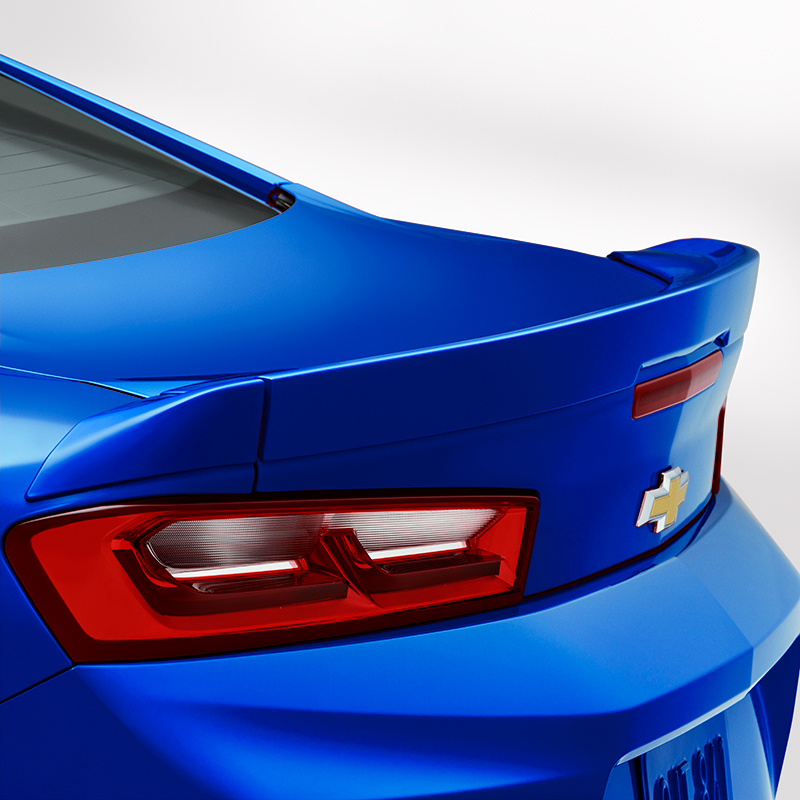 2016 Camaro Coupe Blade Spoiler Kit, Hyper Blue Metallic (GD1)