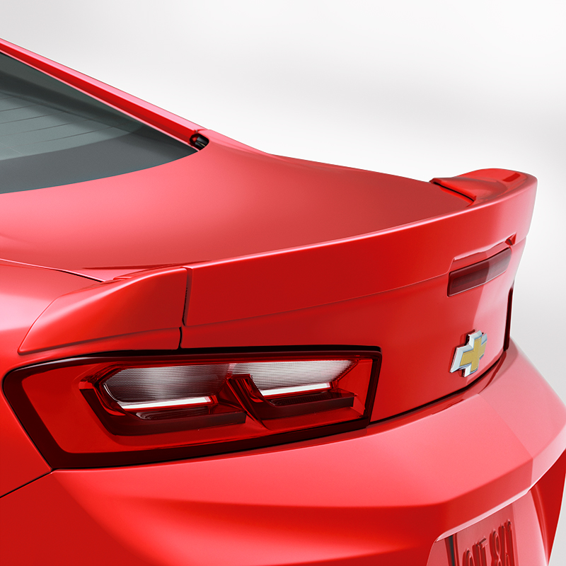 2016 Camaro Coupe Blade Spoiler Kit, Red Hot (G7C)