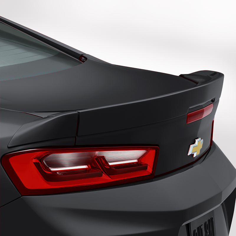 2016 Camaro Coupe Blade Spoiler Kit, Black (GBA)