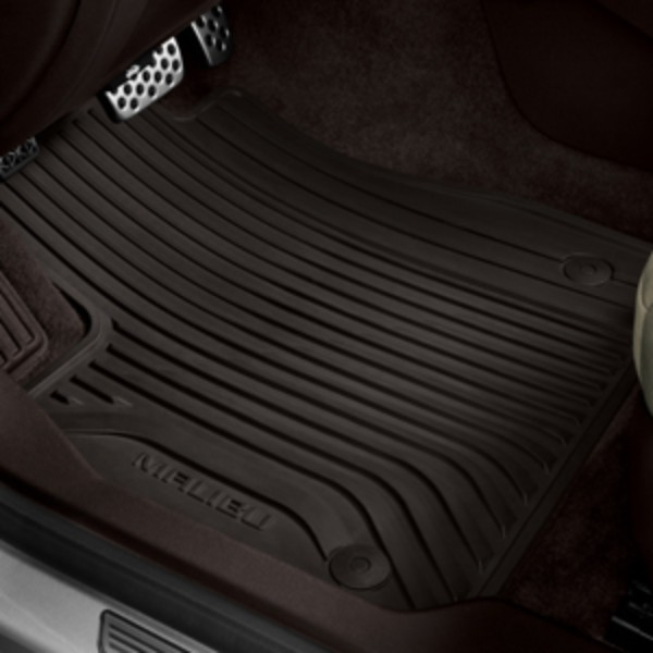 2017 Malibu Premium All Weather Front And Rear Floor Mats