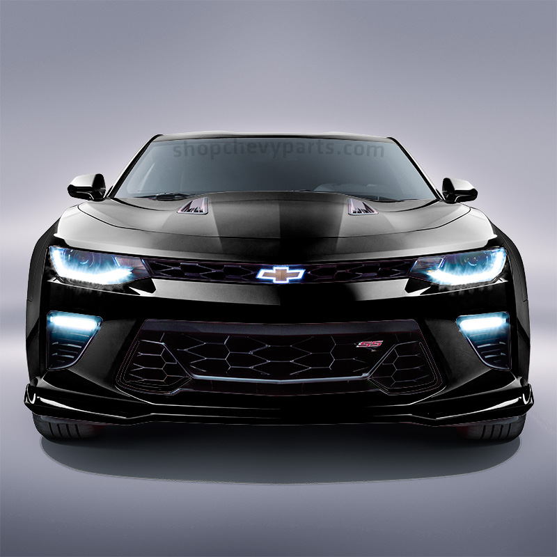 2016 Camaro Illuminated Front Grille Bowtie Gold With