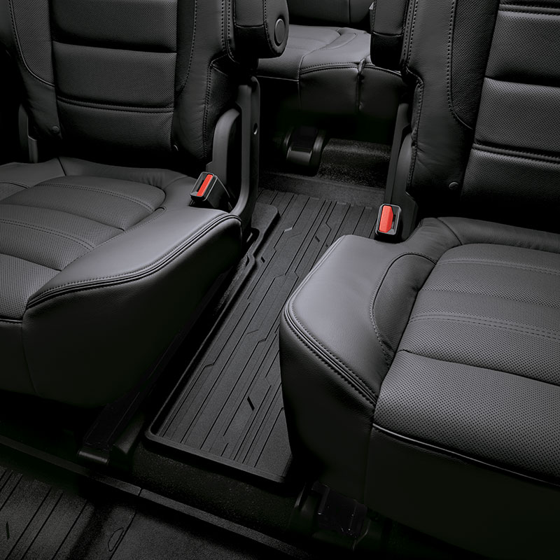 2017 Acadia Denali Premium All Weather Floor Mats Third Row Jet Blac 84042974 Interior All New
