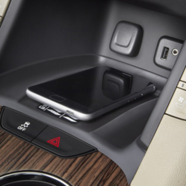 2017 Acadia Wireless Charging System
