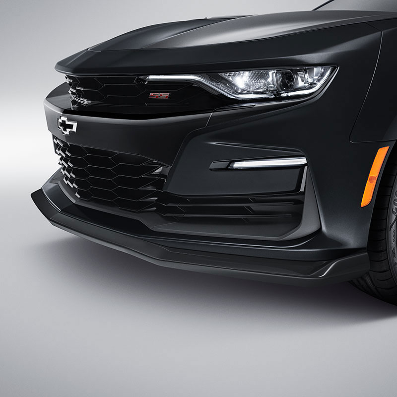2016 Camaro Front Fascia Extension, SS, Black (GBA)