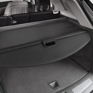 2018 XT5 Cargo Security Shade, Jet Black