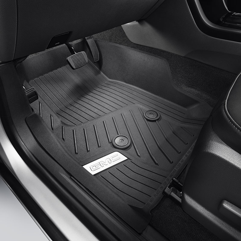 2017 Canyon Premium All Weather Floor Liners Black With