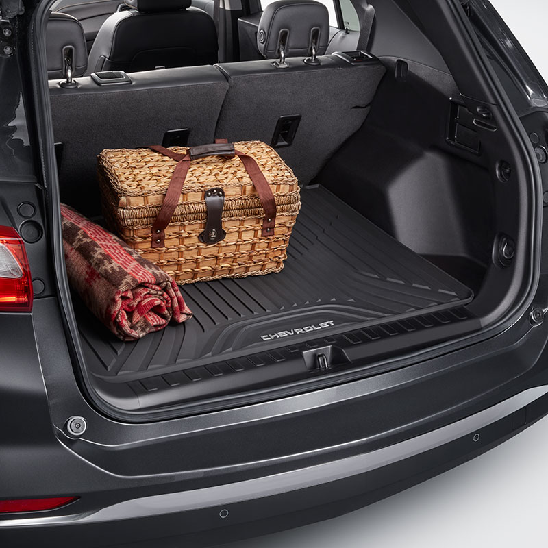 2018 Equinox Premium All Weather Cargo Area Floor Mat, Black