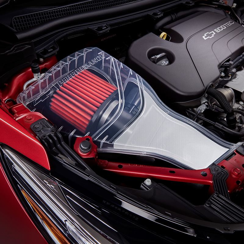 2018 Cruze Cold Air Performance Air Intake