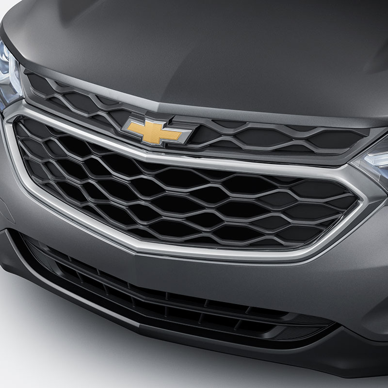 2018 Equinox Grille, Black with Chrome Surround
