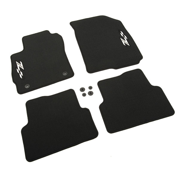 2012 Sonic Floor Mats, Z-Spec, Front and Rear, Black