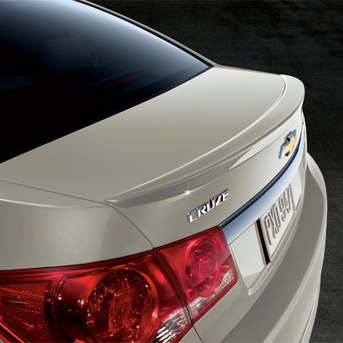2012 Cruze Spoiler Kit, Flushmount Champagne (GWT), for use on the Sed