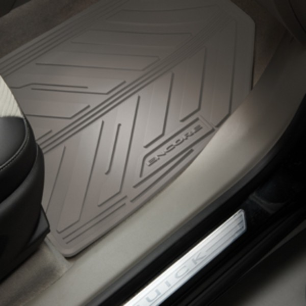 2015 Encore All Weather Floor Mats Front And Rear Titanium