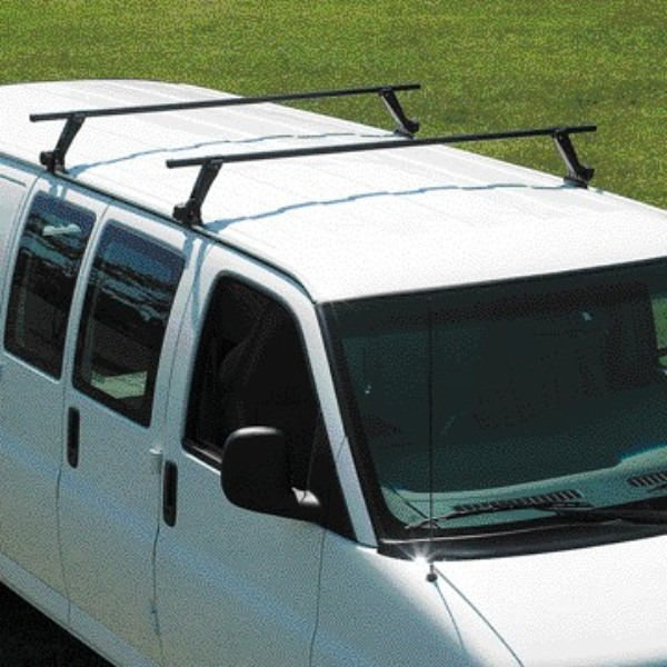 2012 Express Roof Rack Cross Rail Package - Gray
