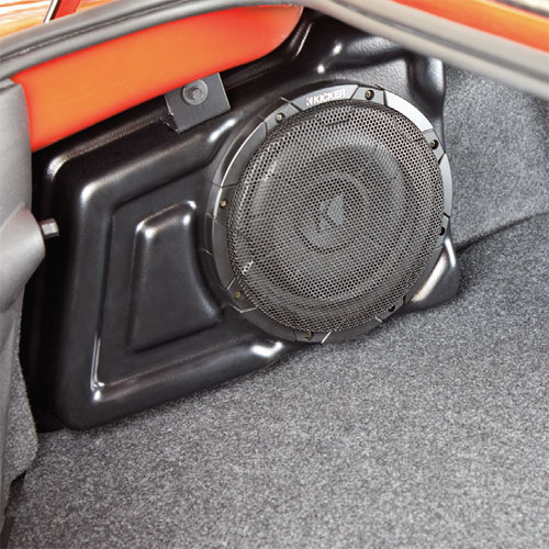2012 Camaro Kicker Audio, 200-Watt Subwoofer and DSP Amp w/o MyLink