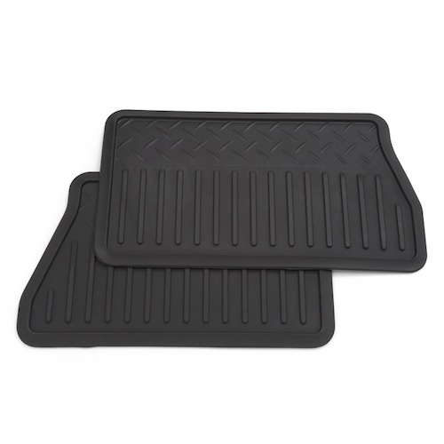 Floor Mats - Rear Vinyl Replacement, Vinyl Replacements - 2 Piec