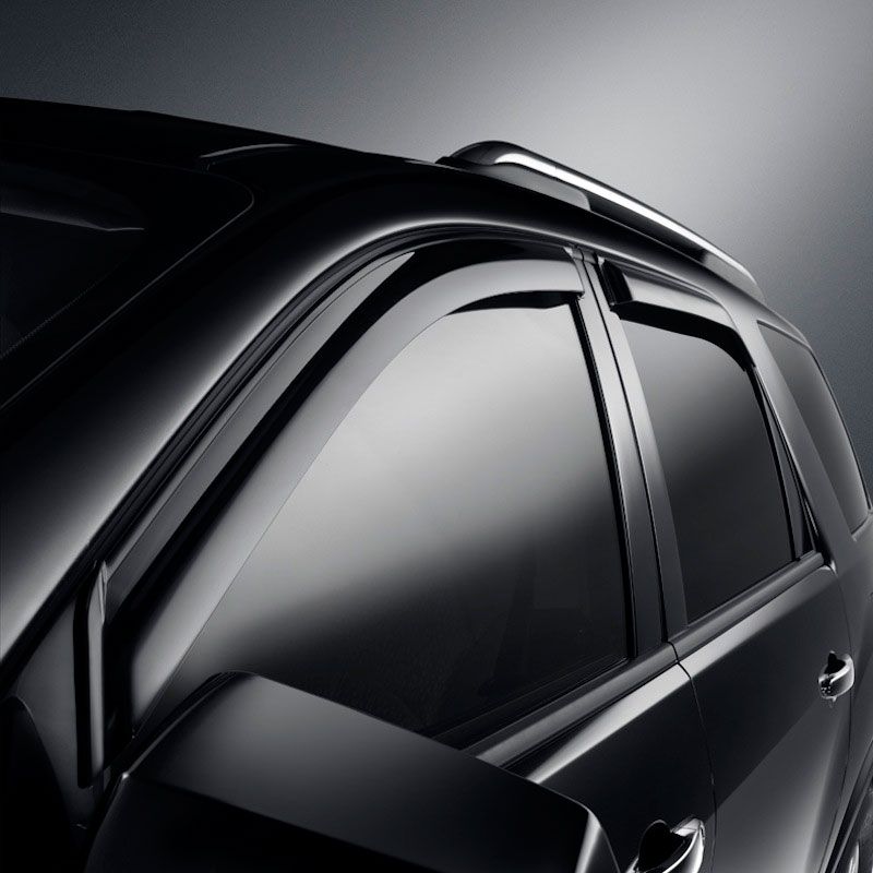 Buick Enclave Side Window Weather Deflector, Smoke