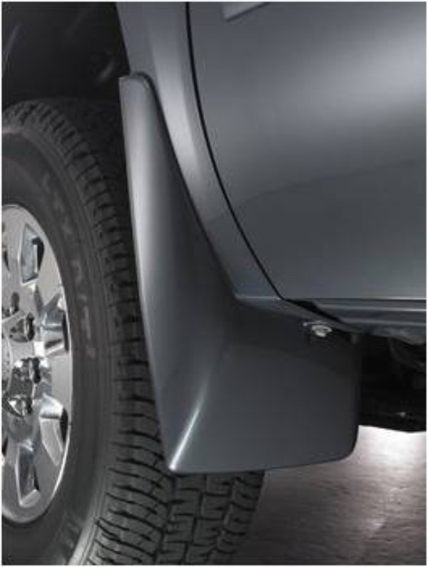 Splash Guards - Front - Molded Front Set, Black (41U)