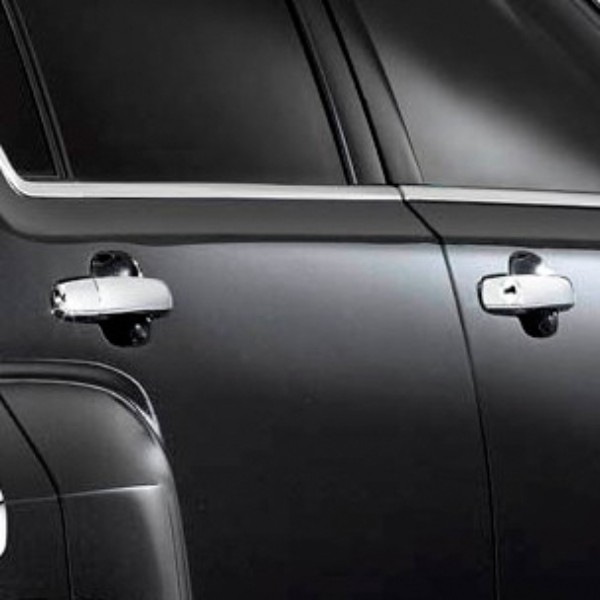 Equinox or Terrain Outside Door Handles, Chrome, Front and Rear Sets