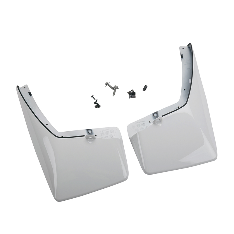 Splash Guards - Front, Molded Front Set, White (50U)