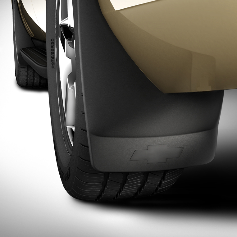 Splash Guards - Molded Rear Set, Black (41U)