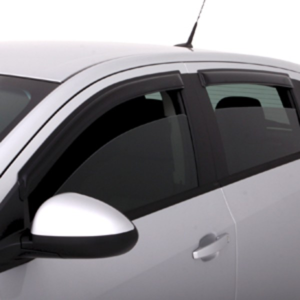 2012 Sonic Side Window Deflector, Ventvisor, Black, 5 Door Hatchback