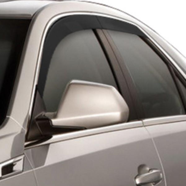 2012 CTS Sport Wagon Side Window Deflectors, Black, 4 pcs