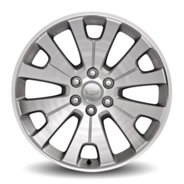 2019 Escalade  22 Inch Wheel - 6-Split-Spoke Ultra Bright Mac