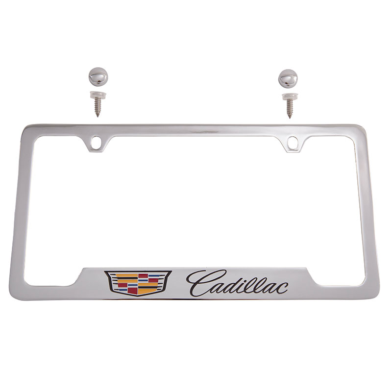 2015 Cts License Plate Frame Cadillac Crest With Cadillac