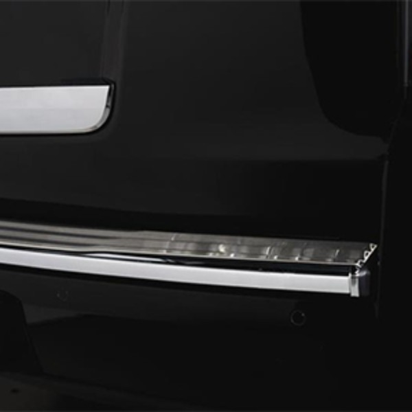 2019 Tahoe Stainless Steel Rear Bumper Cover (w/o Factory Chrome Trim)