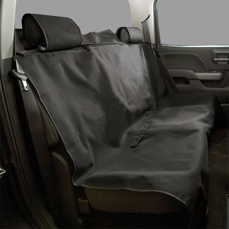 Enjoyable 2018 Colorado Pet Friendly Rear Bench Seat Cover Black Caraccident5 Cool Chair Designs And Ideas Caraccident5Info
