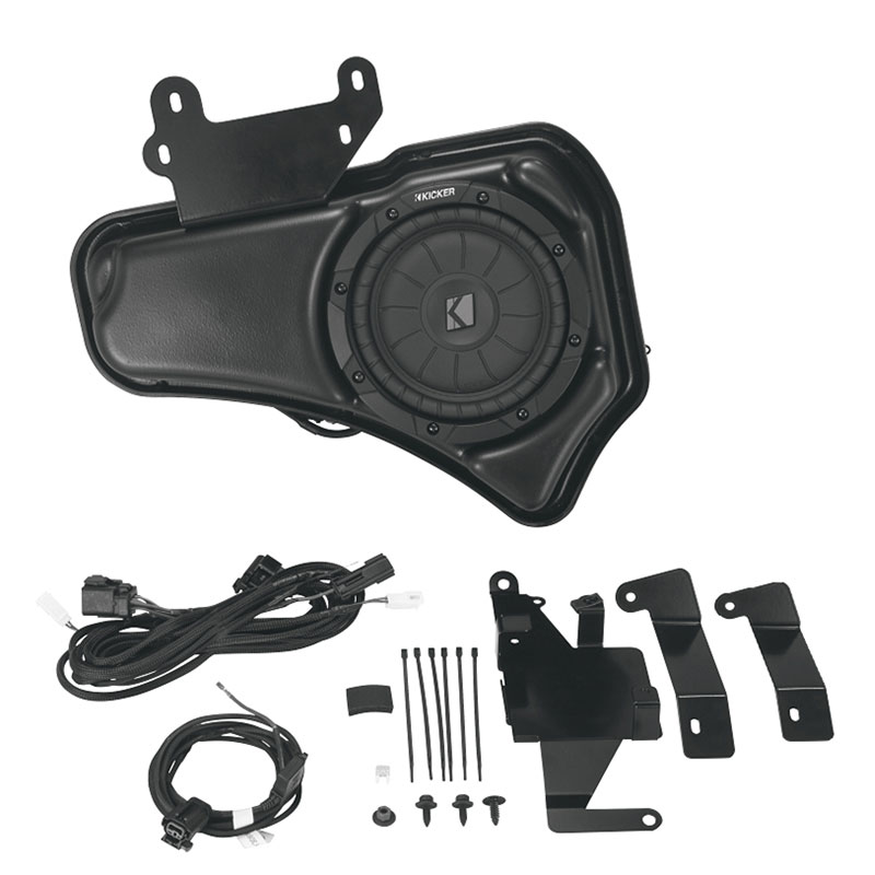 2019 Yukon Audio Subwoofer Upgrade, 200 watts