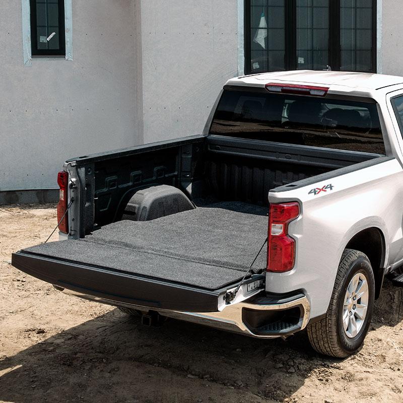 2020 Silverado 2500 Bed Rug Liner, Standard Box, Floor and ...
