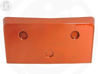 Corvette License Plate Holder Front, Orange (28U)