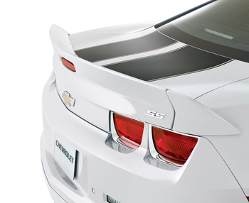 Camaro Blade Dovetail Spoiler, Summit White