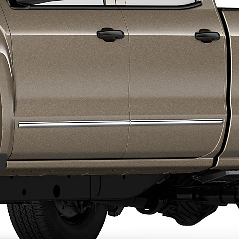 2014 Silverado 1500 Crew Cab Bodyside Molding Package