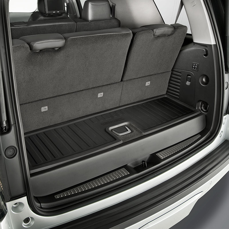 2015 Yukon Denali Cargo Area Mat All Weather Ebony