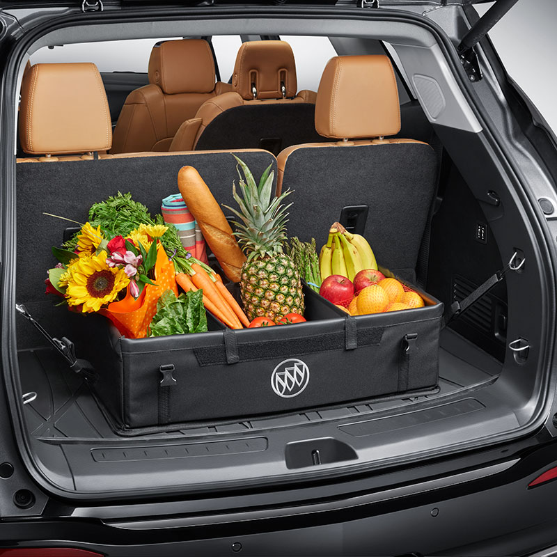 2013 Enclave Cargo Partition, Collapsible Cargo Area Organizer