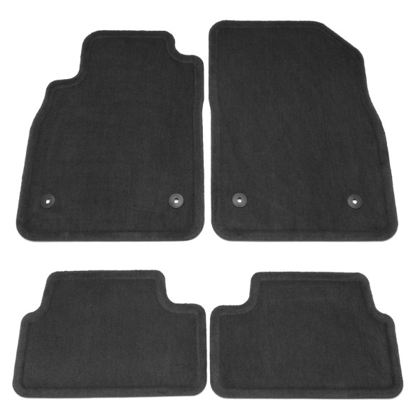 2012 Cruze Floor Mats, Front/Rear Carpet Replacements, Black