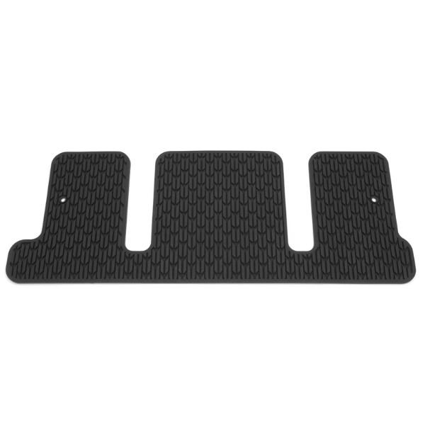 floor mats - third row - premium all weather - 3rd row - captain