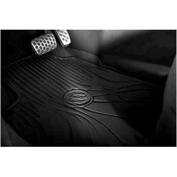 Verano Front and Rear Premium All Weather Floor Mats, Cocoa