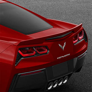 2019 Corvette Spoiler, Blade, Torch Red