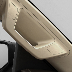 2017 Silverado 1500 Driverside Assist Handle Package, Shale