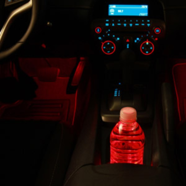 2015 Camaro Ambient Lighting Footwell and Cup Holder
