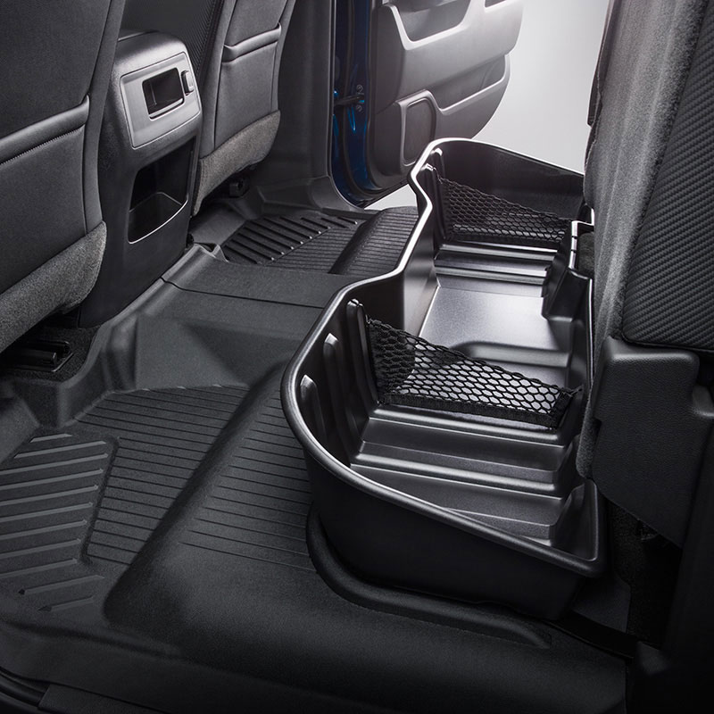 2017 Silverado 1500 Under Seat Storage, Ebony, CREW CAB ...