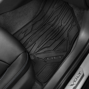 2018 Volt Premium All Weather Floor Mats Front & Rear, Black
