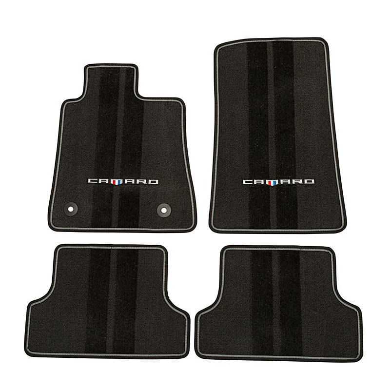 Passenger /& Rear GGBAILEY D4466A-S1A-CH-BR Custom Fit Automotive Carpet Floor Mats for 1985 1986 Chevrolet Camaro Coupe Brown Driver